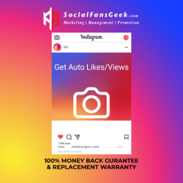 Buy Instagram AUTO Likes/Views